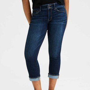 American Eagle Artist Crop Jeans Size 4